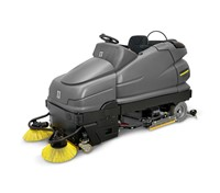 Máy quét rác Karcher B 250 RI (with sweep vacuuming) with D 100 S + 2 x RM 755 ES +2 x Pad drive board (9.653-113.0)